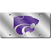 Rico Kansas State Wildcats Silver Laser Tag License Plate