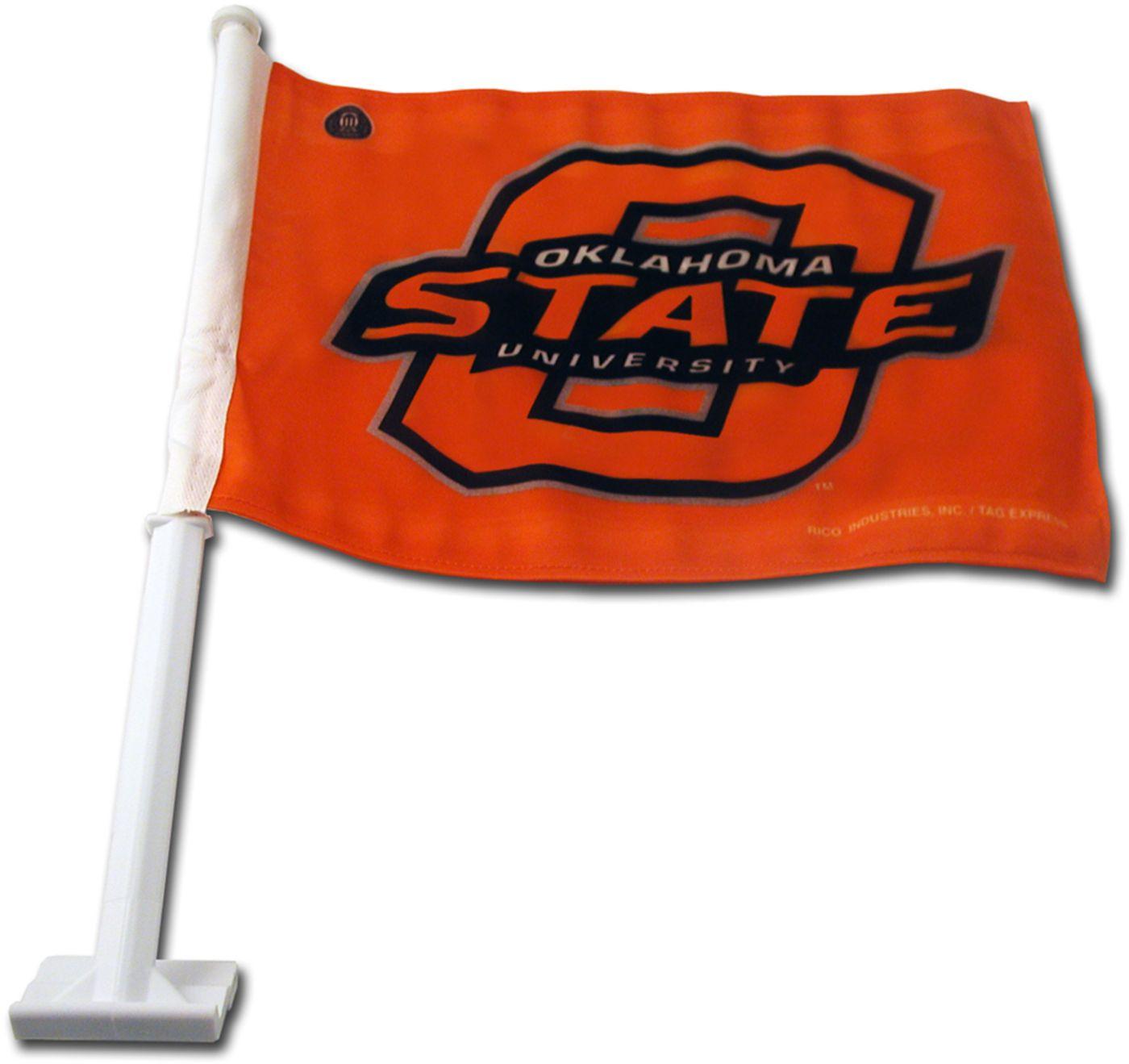 Rico Oklahoma State Cowboys Car Flag