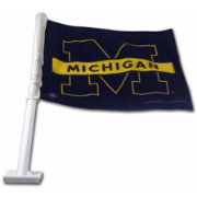 Rico Michigan Wolverines Car Flag