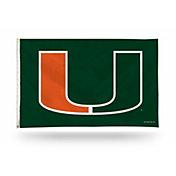 Rico Miami Hurricanes Banner Flag