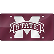 Rico Mississippi State Bulldogs Dark Red Laser Tag License Plate