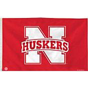 Rico Nebraska Cornhuskers Banner Flag