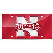 Rico Nebraska Cornhuskers Laser Tag License Plate
