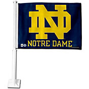 Rico Notre Dame Fighting Irish Navy Logo Car Flag