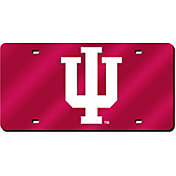 Rico Indiana Hoosiers Red Laser Tag License Plate