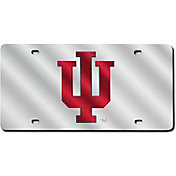 Rico Indiana Hoosiers Silver Laser Tag License Plate