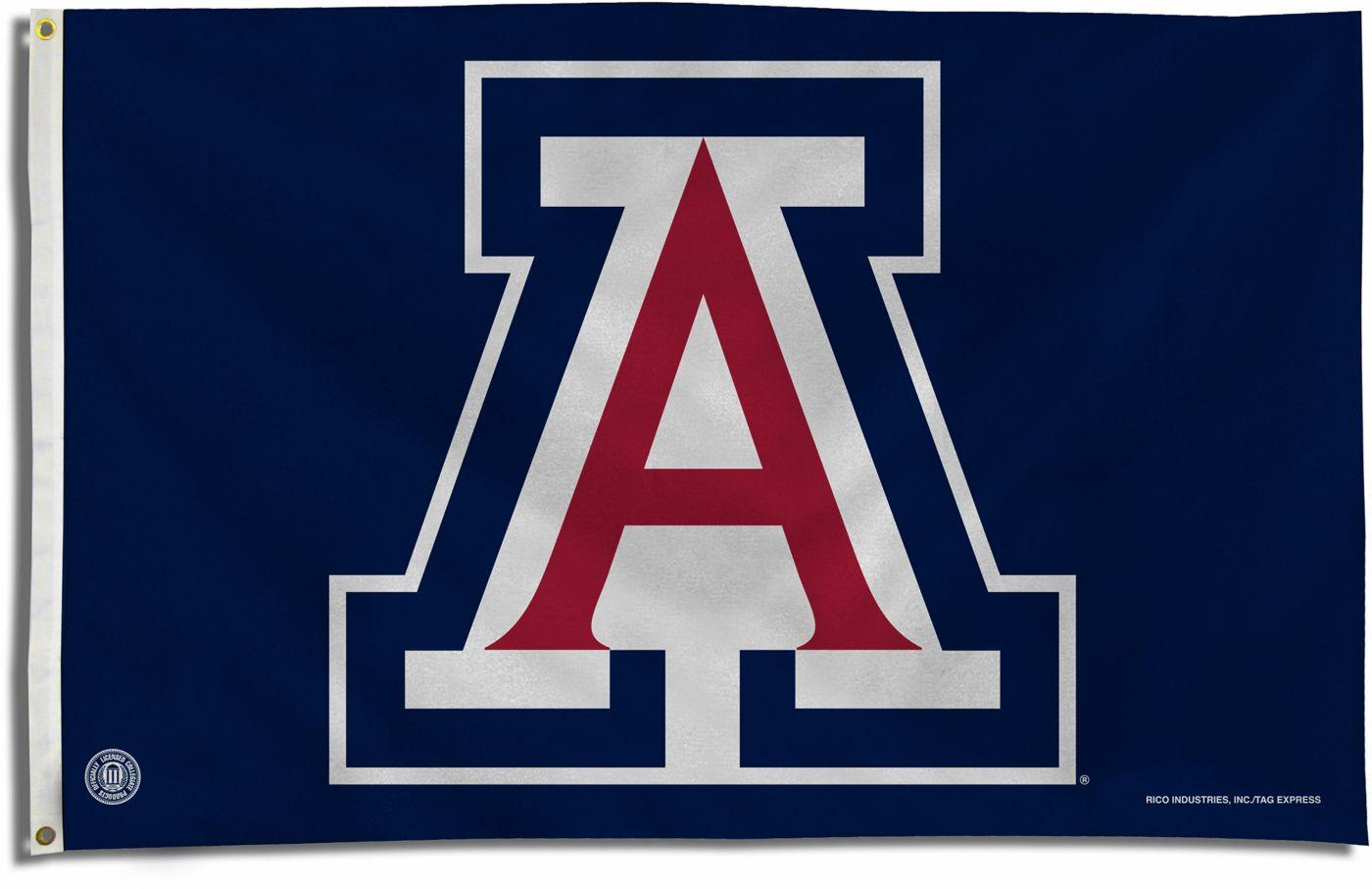 "Rico Arizona Wildcats ""A"" Banner Flag"