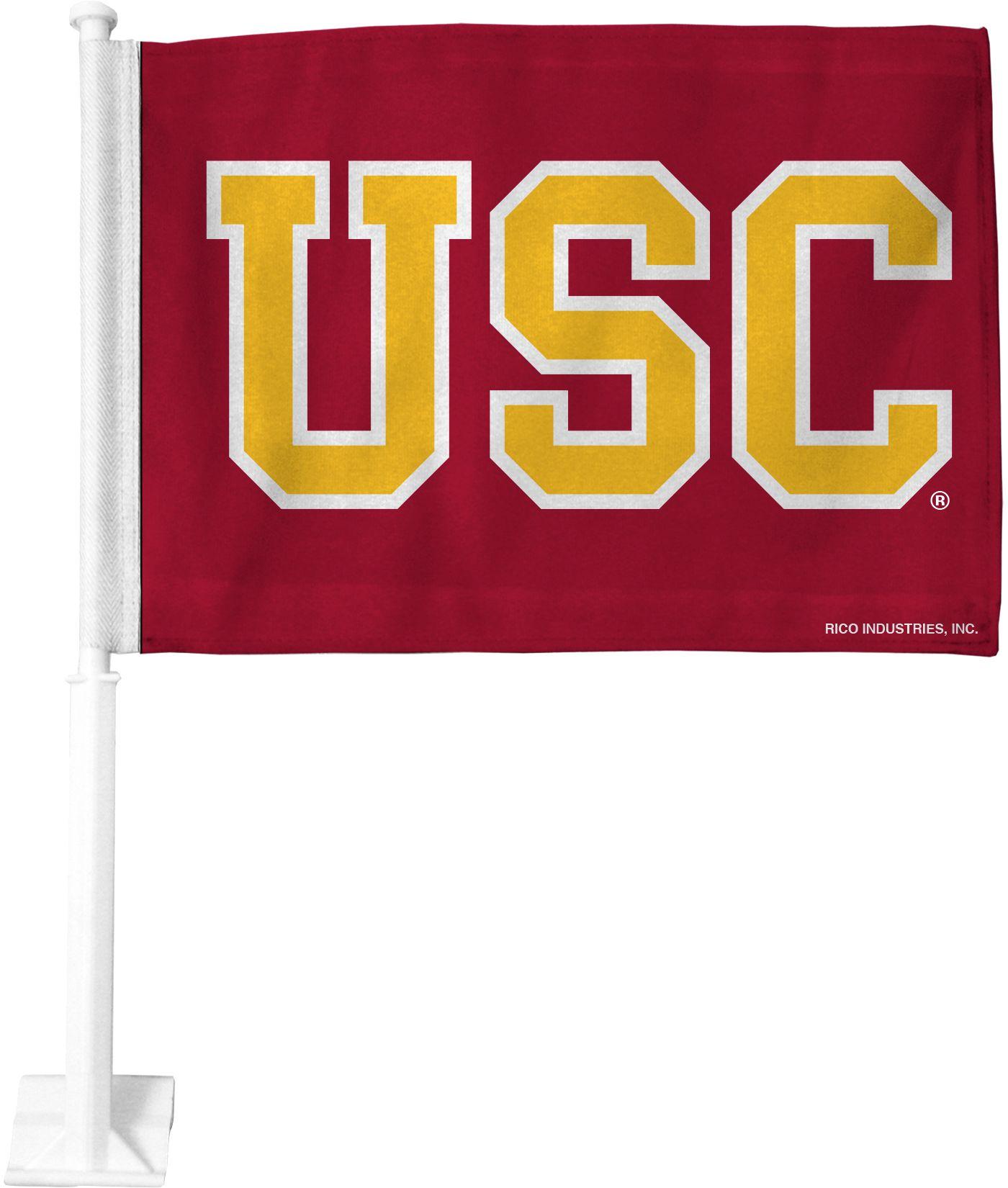 Rico USC Trojans Car Flag