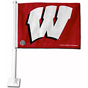 Rico Wisconsin Badgers Car Flag