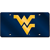 Rico West Virginia Mountaineers Blue Laser Tag License Plate