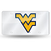Rico West Virginia Mountaineers Silver Laser Tag License Plate