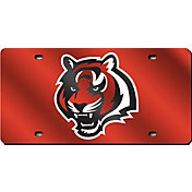 Rico Cincinnati Bengals Orange Laser Tag License Plate