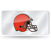 Rico Cleveland Browns Silver Laser Tag License Plate