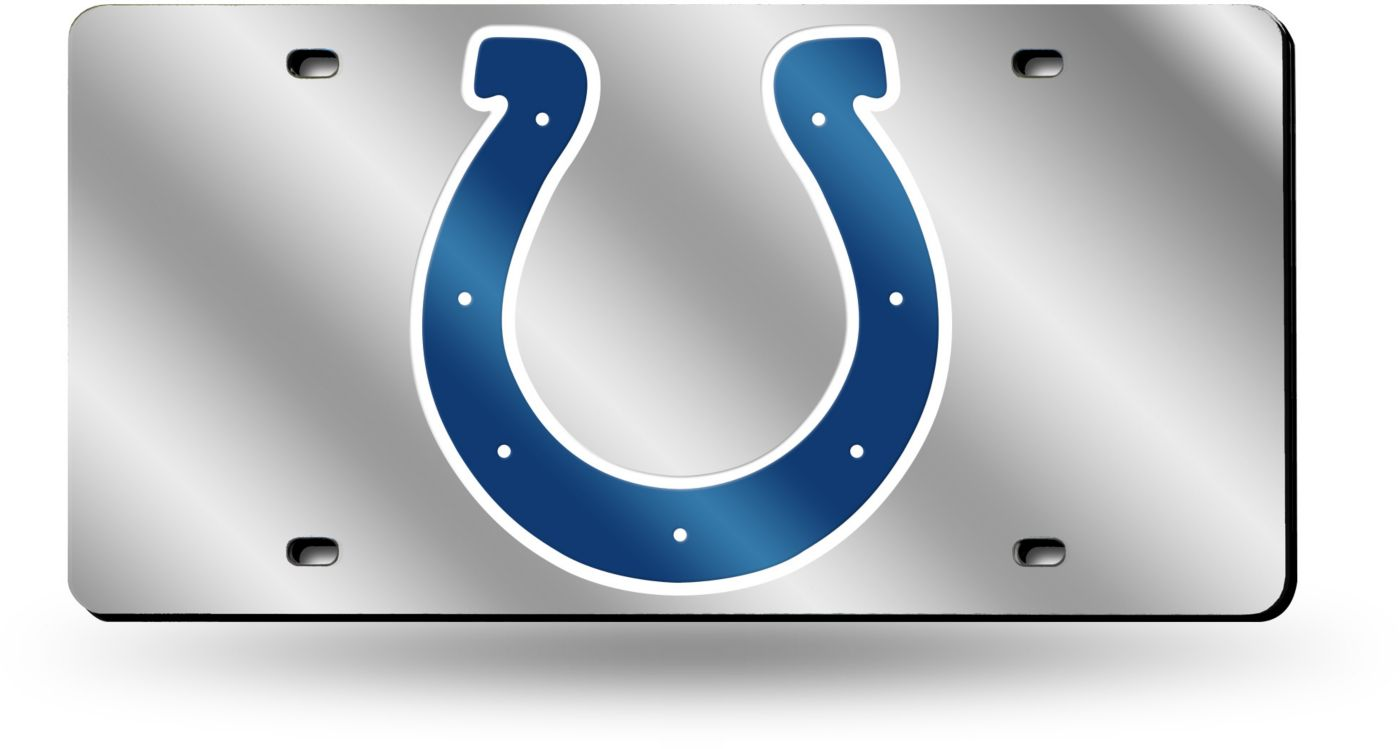 Rico Colts Silver Laser Tag License Plate