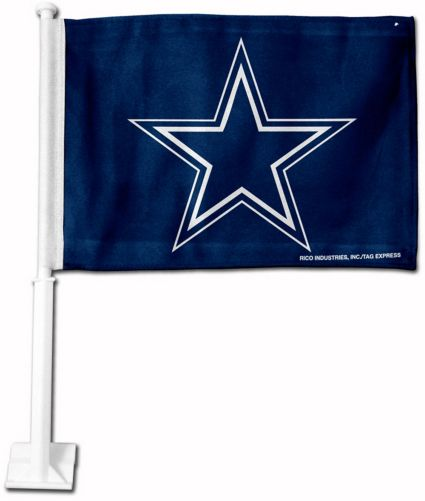 Rico Dallas Cowboys Car Flag. noImageFound cecefdcef