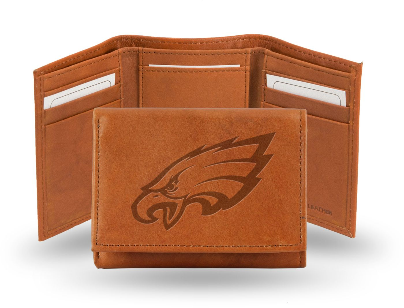 Rico NFL Philadelphia Eagles Embossed Tri-Fold Wallet