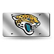 Rico Jacksonville Jaguars Silver Laser Tag License Plate