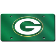 Rico Green Bay Packers Green Laser Tag License Plate