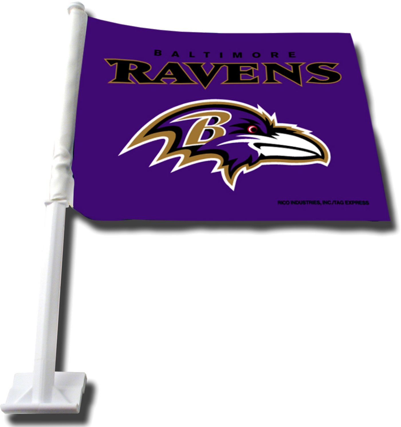 Rico Baltimore Ravens Car Flag