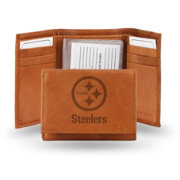 Rico NFL Pittsburgh Steelers Embossed Tri-Fold Wallet