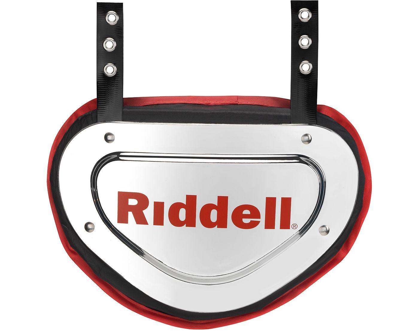 Riddell Adult Chrome Football Back Plate
