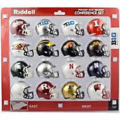 Riddell Big 10 Speed Pocket Football Helmet Set