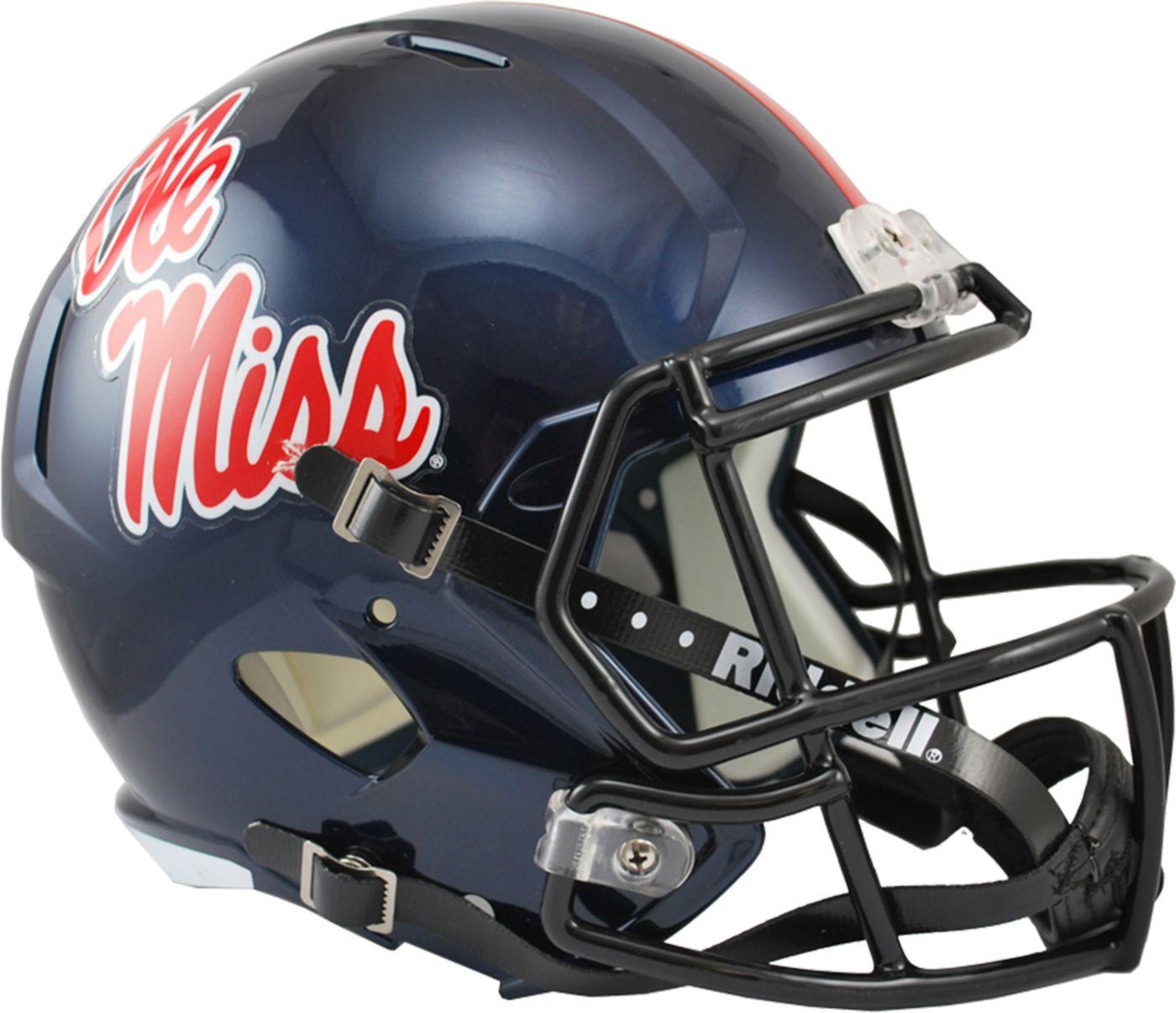 Riddell Ole Miss Rebels 2016 Replica Speed Full-Size Helmet