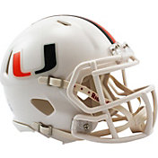 Riddell Miami Hurricanes Speed Mini Football Helmet