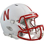 Riddell Nebraska Cornhuskers Speed Revolution Authentic Full-Size Football Helmet