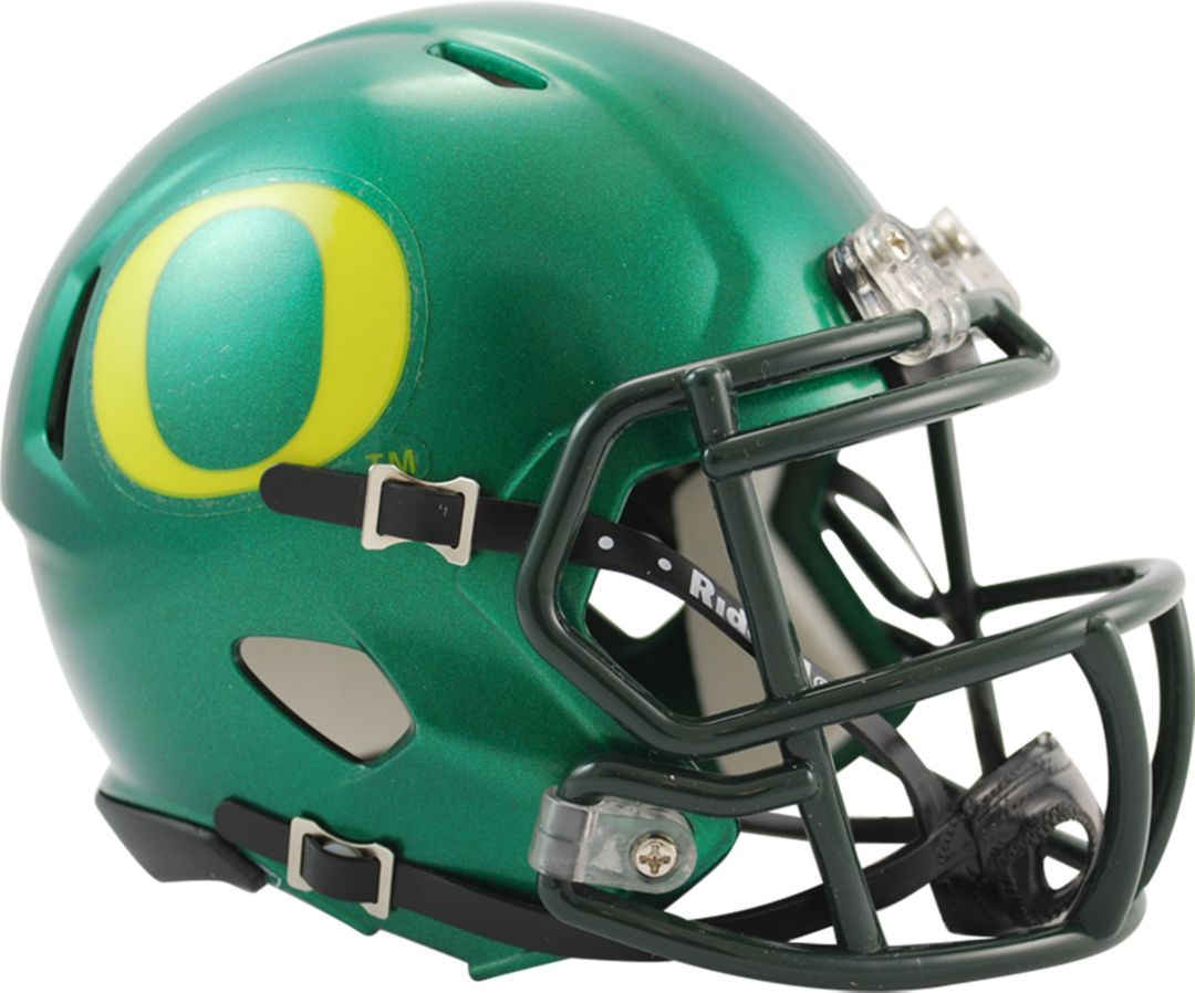 separation shoes debf6 4582a Riddell Oregon Ducks Speed Mini Football Helmet
