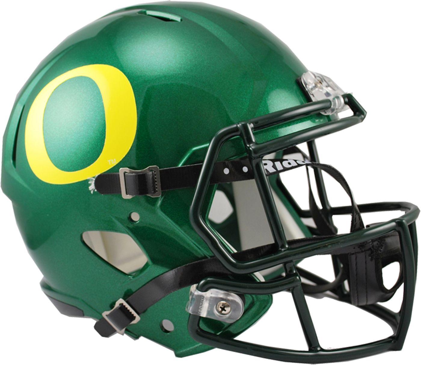 Riddell Oregon Ducks 2016 Replica Speed Full-Size Helmet