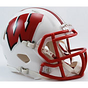 Riddell Wisconsin Badgers Mini Speed Football Helmet