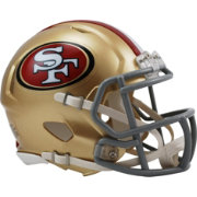 Riddell San Francisco 49ers Revolution Speed Mini Helmet