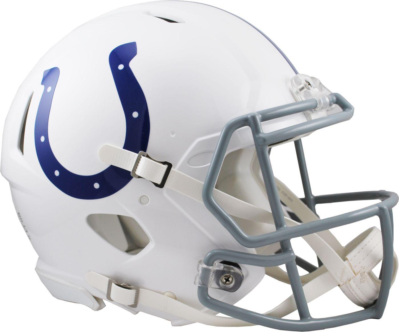 Riddell Indianapolis Colts Revolution Speed Football Helmet
