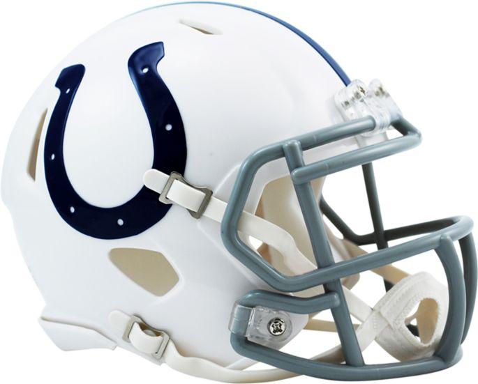 91d83526 Riddell Indianapolis Colts Revolution Speed Mini Helmet