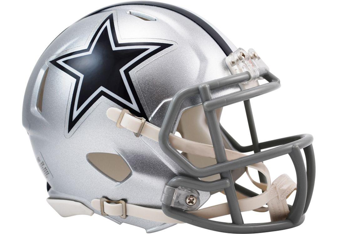 buy online cab42 ceec5 Riddell Dallas Cowboys Revolution Speed Mini Helmet