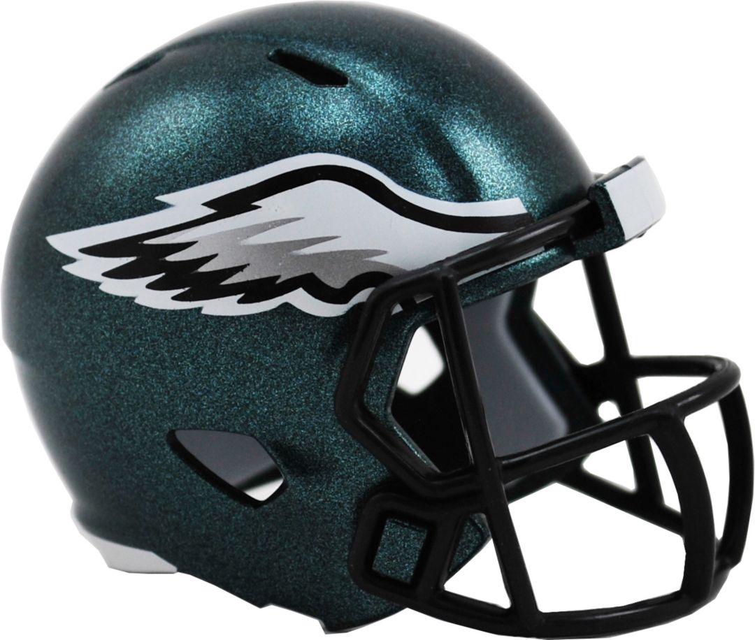 5e911e9c Riddell Philadelphia Eagles Pocket Single Speed Helmet