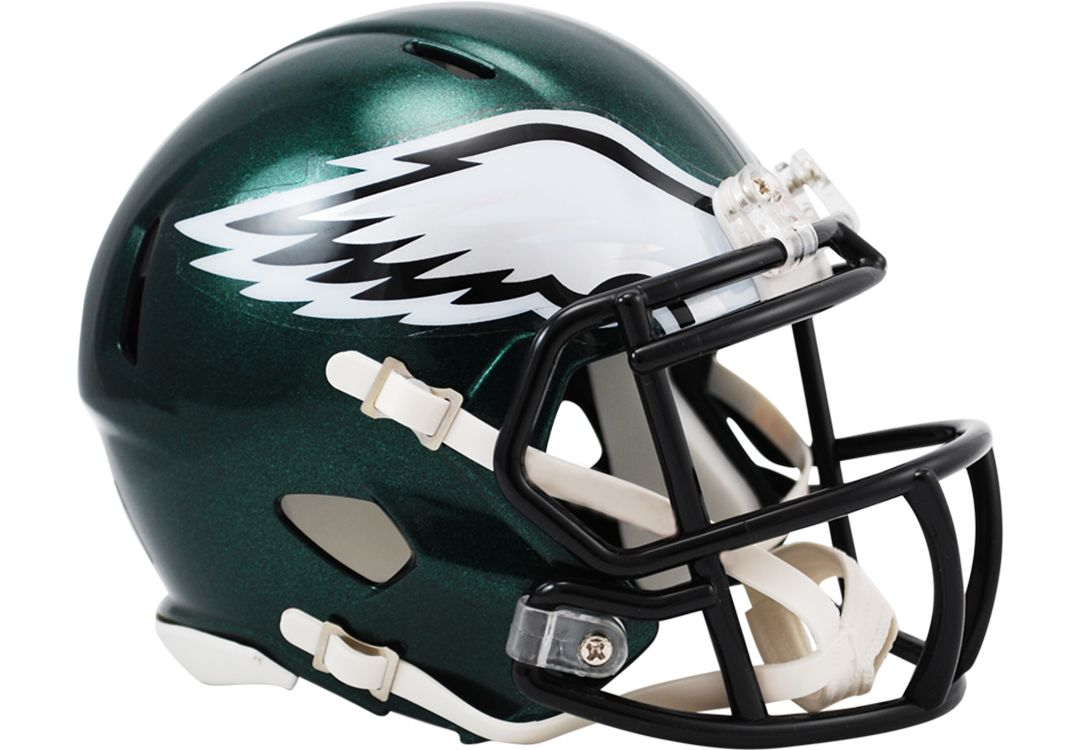 new styles 705c0 c4b32 Riddell Philadelphia Eagles Revolution Speed Mini Helmet