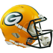 Riddell Green Bay Packers Revolution Speed Football Helmet