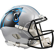 Riddell Carolina Panthers Revolution Speed Football Helmet