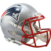 Riddell New England Patriots Revolution Speed Football Helmet