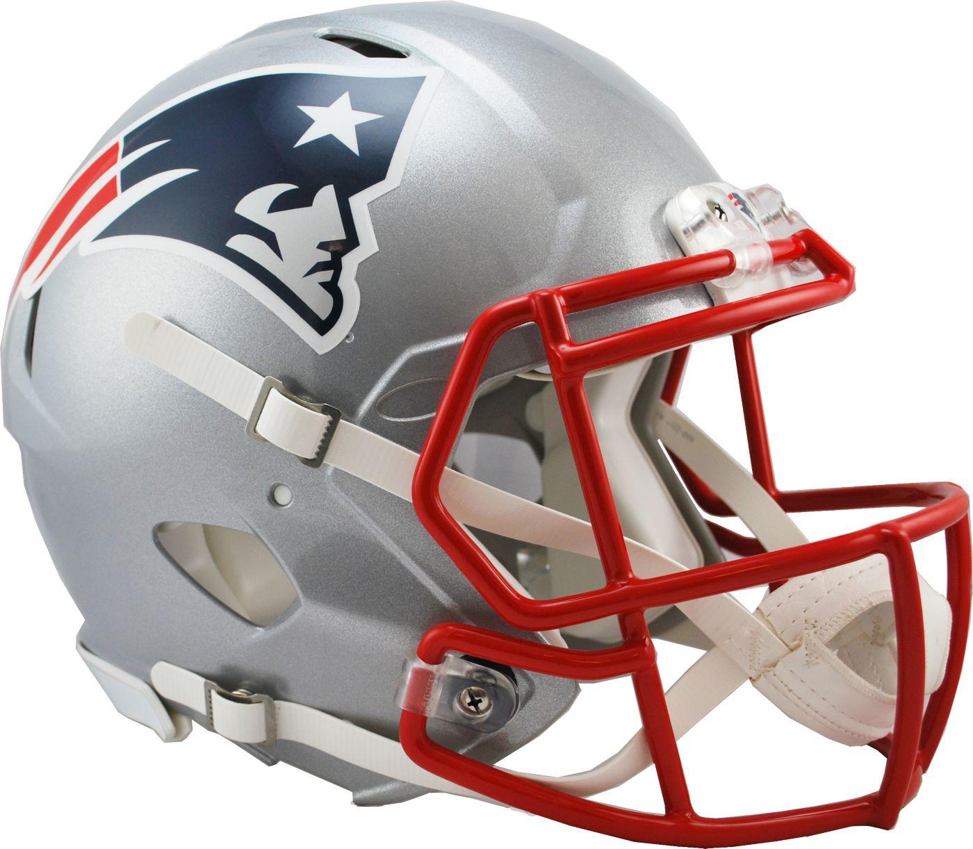 Riddell New England Patriots Revolution Speed Football Helmet