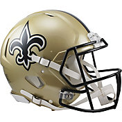 Riddell New Orleans Saints Revolution Speed Football Helmet