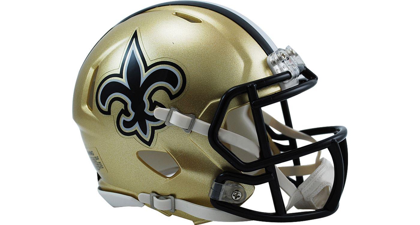 Riddell New Orleans Saints Revolution Speed Mini Helmet