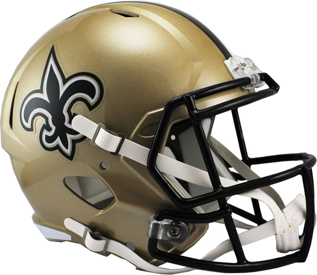 separation shoes d4ec7 bc293 Riddell New Orleans Saints 2016 Replica Speed Full-Size Helmet