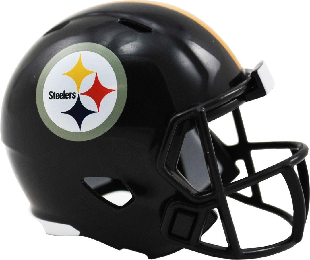 11de6478 Riddell Pittsburgh Steelers Pocket Single Speed Helmet