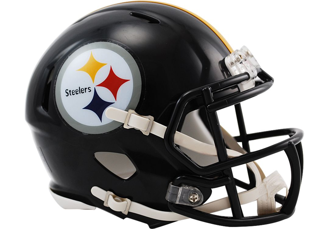 online retailer 5c30a 60bb4 Riddell Pittsburgh Steelers Revolution Speed Mini Helmet