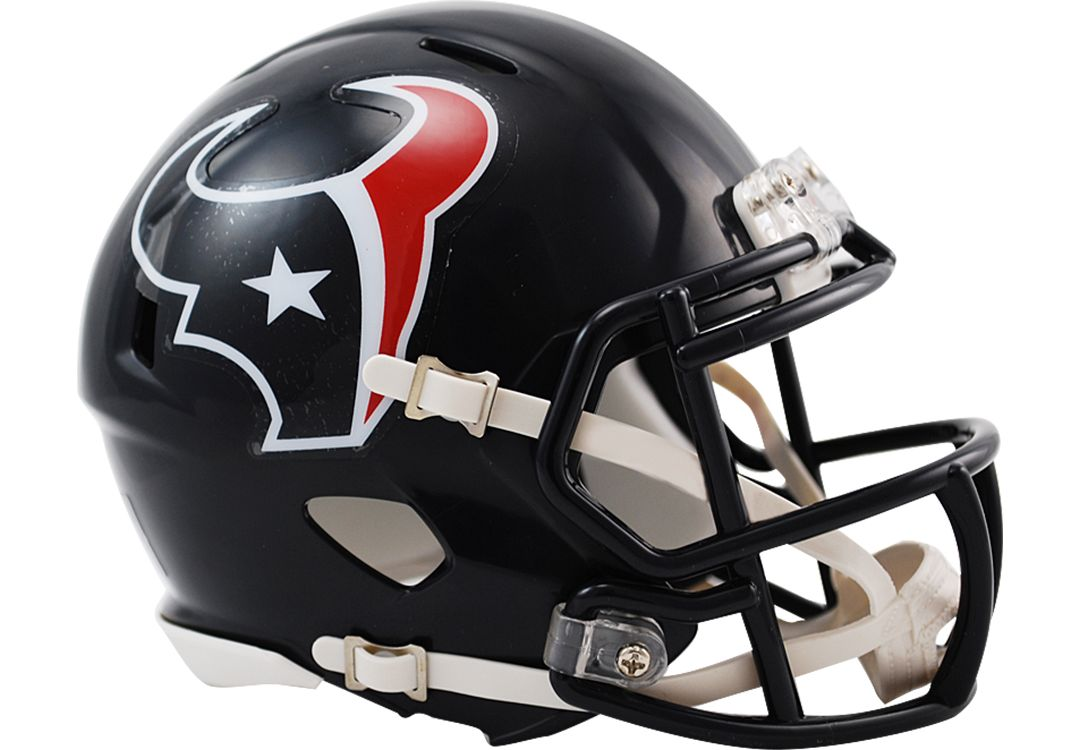 01cdcbc0 Riddell Houston Texans Speed Mini Football Helmet