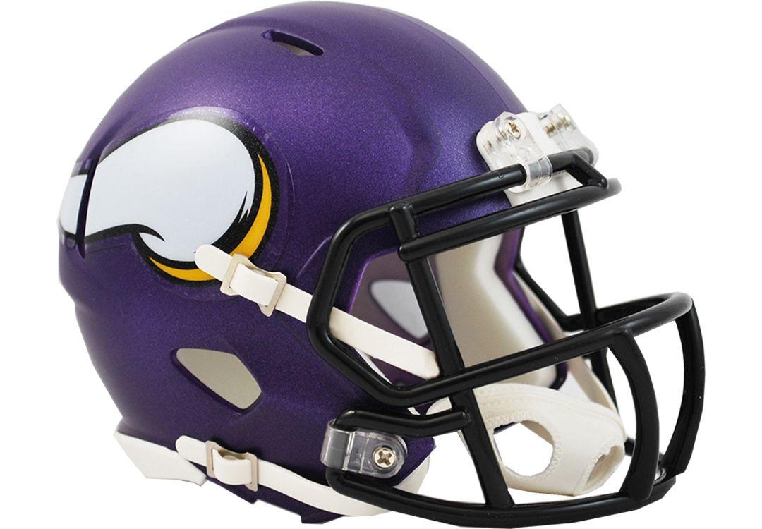 7fdb1271 Riddell Minnesota Vikings Mini Speed Helmet