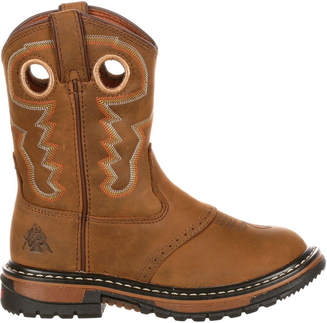 online here boy cheapest sale Rocky Kids' Original Ride 7'' Western Boots